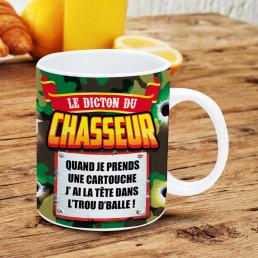 Mug Chasseur Dicton