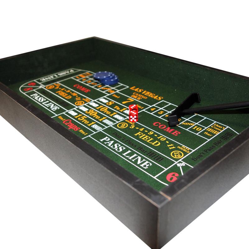 table de jeux vegas 3 en 1 avec blackjack roulette et. Black Bedroom Furniture Sets. Home Design Ideas