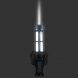 Torche Tournevis Sonique 12ème Dr Who 15 cm