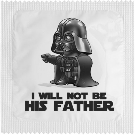 Préservatif Darkapote - I will not be his father