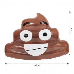 Maxi Matelas Gonflable Emoticône Crotte