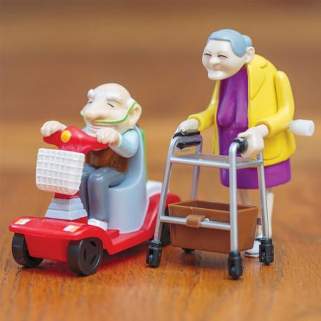Racing Granny et Grandad