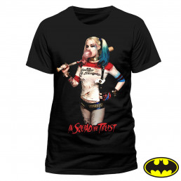 T-Shirt Harley Quinn - In Squad We Trust