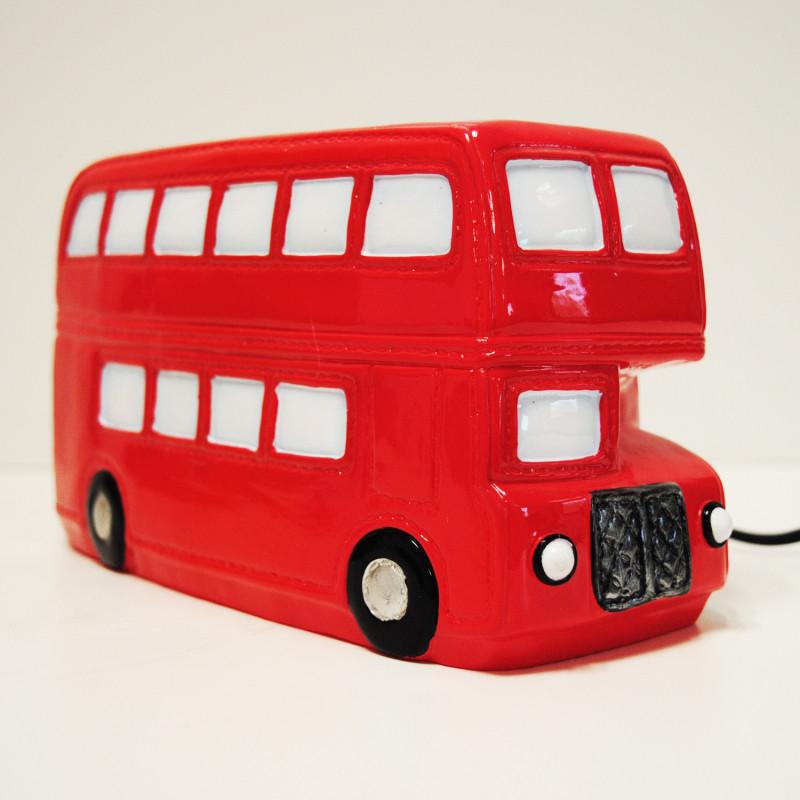 Veilleuse d co britannique en forme de bus anglais sur logeekdesign - Image de bus anglais ...