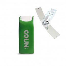 Briquet Solaire Bi-Energie