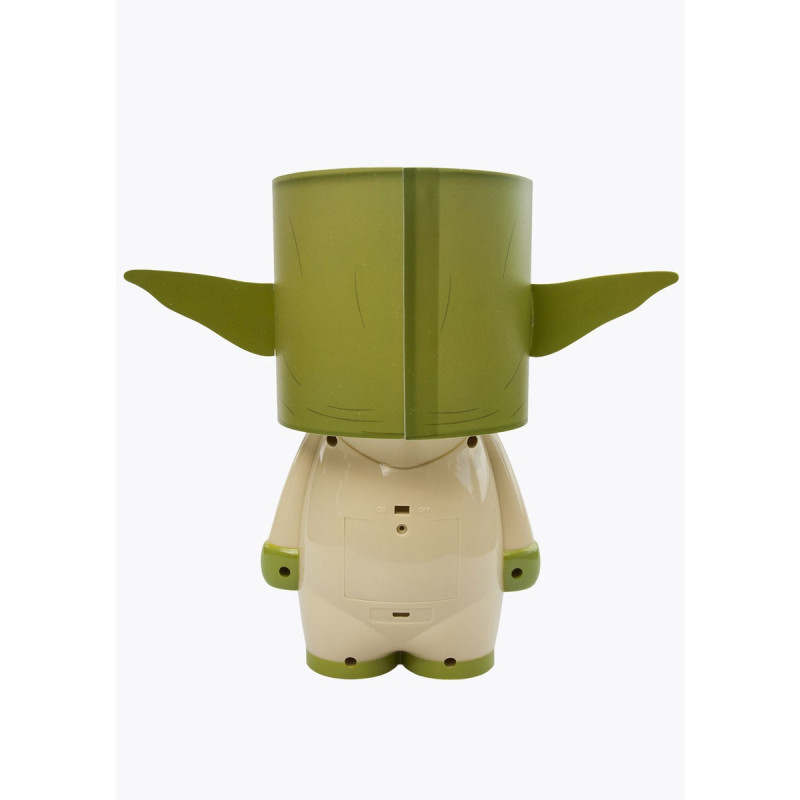 lampe star wars l 39 effigie de yoda sur logeekdesign. Black Bedroom Furniture Sets. Home Design Ideas