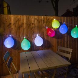 Guirlande Lumineuse Ballons Multicolores