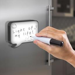 Bulle de Message Lumineuse Magnétique Personnalisable