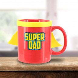Mug Papa à Cape - Super Dad