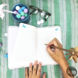 Carnet de Notes Licorne Fourrure