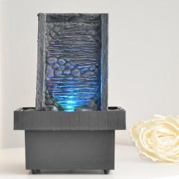 Petite Fontaine Zen avec Led Multicolore