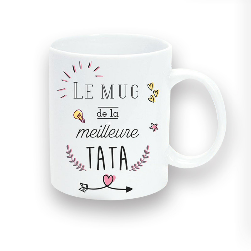 En TataMug Cadeau De Céramique Logeekdesign Sur La Meilleure eEDHYIW29