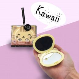 Miroir de Poche Chat Kawaii