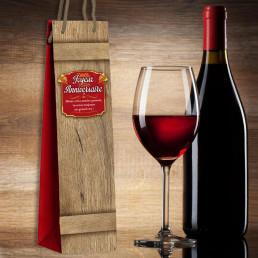 Sac Cadeau Bouteille de Vin
