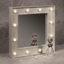 Miroir Hollywood - 12 leds