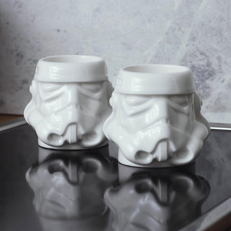 Tasses à Expresso Stormtrooper Star Wars - Lot de Deux