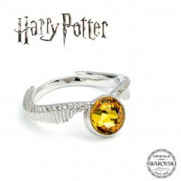 Bague Harry Potter Argent Et Cristaux Swarovski