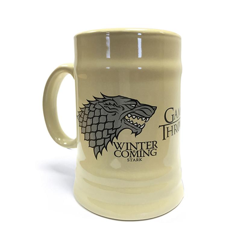 Chope Bière Céramique Game of Thrones