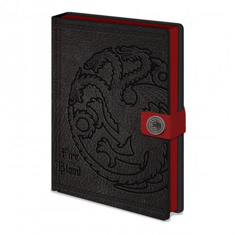 Carnet de Notes Deluxe Game of Thrones Targaryen
