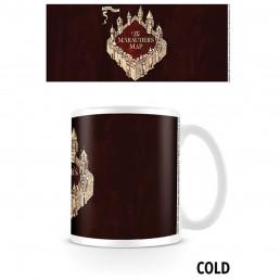 Mug Thermoréactif Harry Potter formule magique Carte du Maraudeur