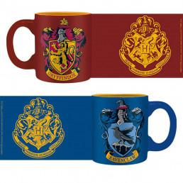 Tasses à Expresso Harry Potter - Gryffondor et Serdaigle