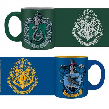 Tasses à Expresso Harry Potter - Serpentard et Serdaigle