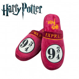 Chaussons Harry Potter Poudlard Voie Express 9 3/4