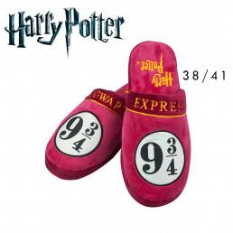 Chaussons Harry Potter Poudlard Voie Express 9 3/4