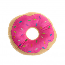 Coussin Peluche Donut
