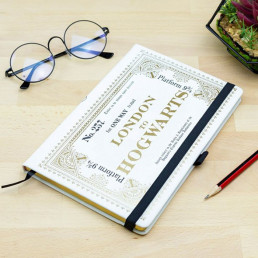 Carnet de Notes Harry Potter Ticket Londres Poudlard