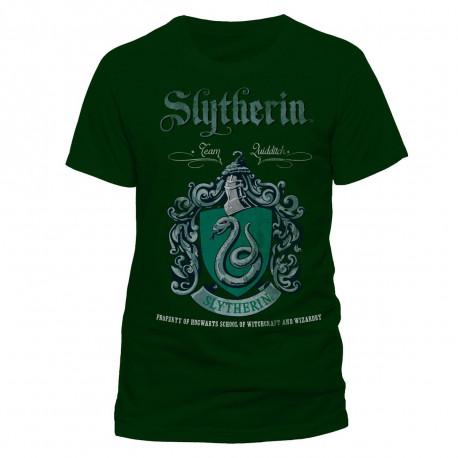 T-Shirt Harry Potter Serpentard Quidditch