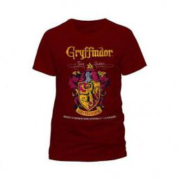 T-Shirt Harry Potter Gryffondor Quidditch