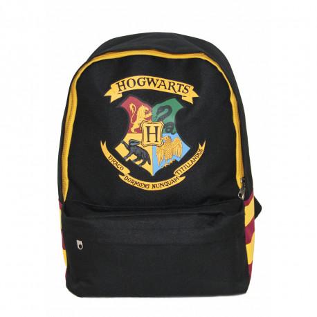 Sac à Dos Harry Potter Noir Blason Poudlard