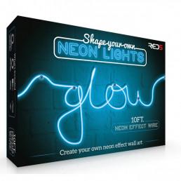 Fil Néon Bleu Lumineux Multicolore