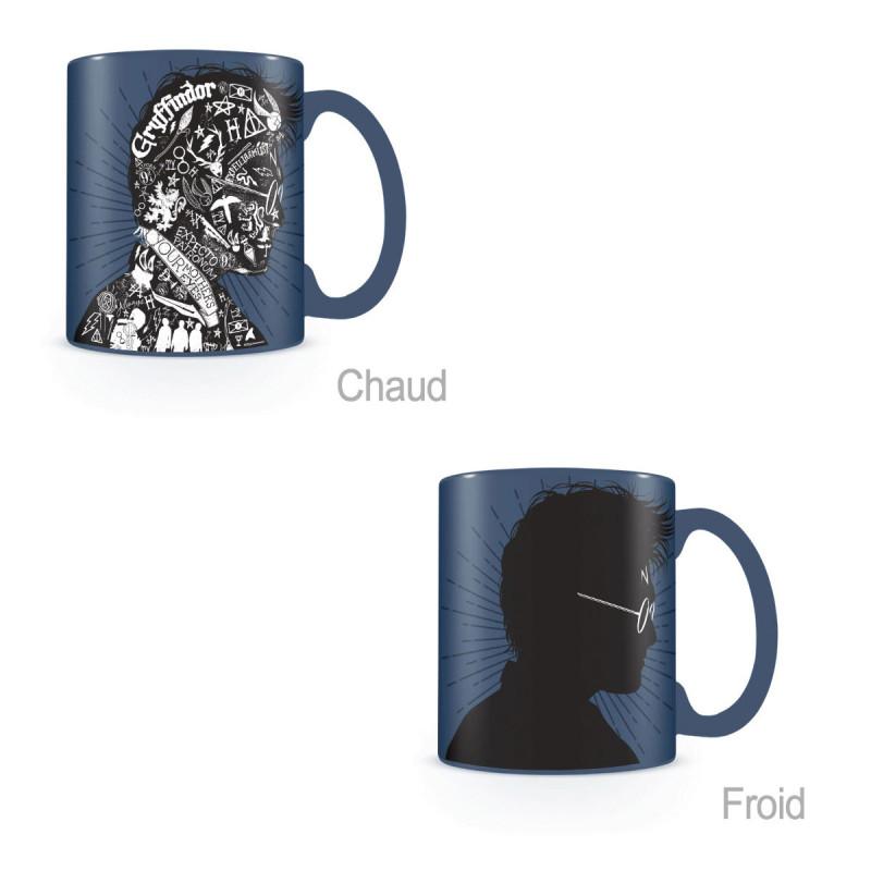 Céramique Mug Potter Thermique Harry Avec Portrait Sur Logeekdesign En eED9Y2WHI