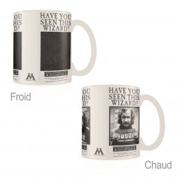 Mug Thermoréactif Harry Potter Wanted Sirius Black