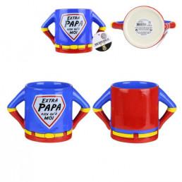 Mug Super-Héros Extra Papa 3D