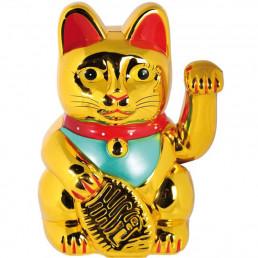 Chat maneki neko chinois porte bonheur lucky cat sur logeekdesign - Porte bonheur chinois chat ...