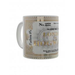 Mug Harry Potter Ticket Londres Poudlard