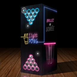 Kit de Beer Pong Lumineux