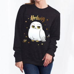 Sweatshirt Harry Potter Hedwige Etoiles