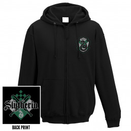 Veste à Capuche Harry Potter Serpentard