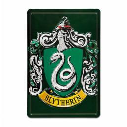 Plaque Métallique 3D Harry Potter - Serpentard