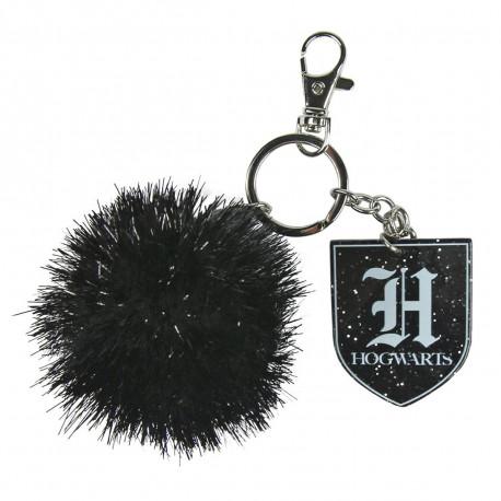 Porte-Clés Harry Potter Pompon Noir