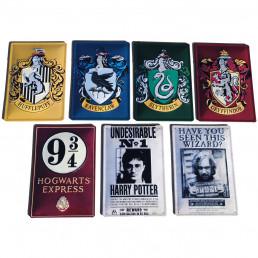 Plaque Métallique 3D Harry Potter - Blason Poudlard