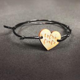 Bracelet Personnalisable Cœur