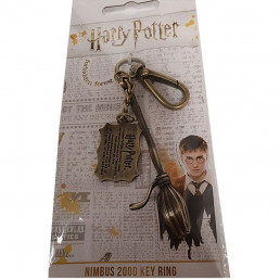 Porte-Clés Harry Potter Balai Volant Nimbus 2000