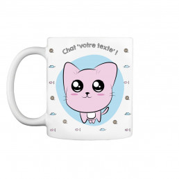 Mug Chat Kawaii à Personnaliser