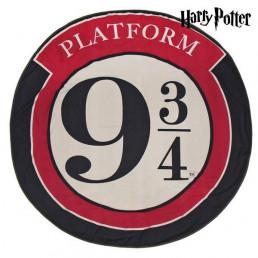 Serviette de Plage Ronde Harry Potter Quai 9 3/4