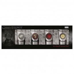 Shooters Game of Thrones - Lot de 4
